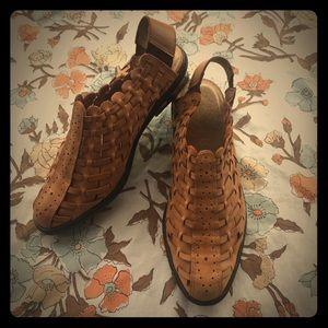 Annie Flex Vintage leather sandals